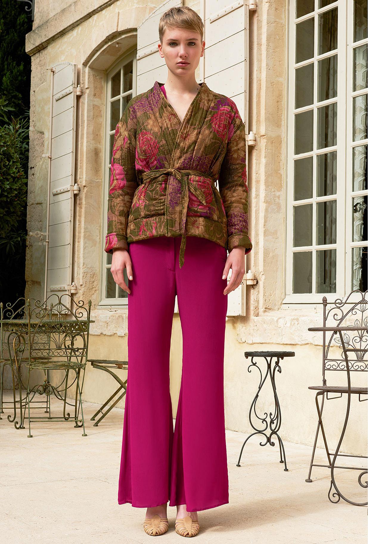 Floral print  Jacket  Azalea Mes demoiselles fashion clothes designer Paris
