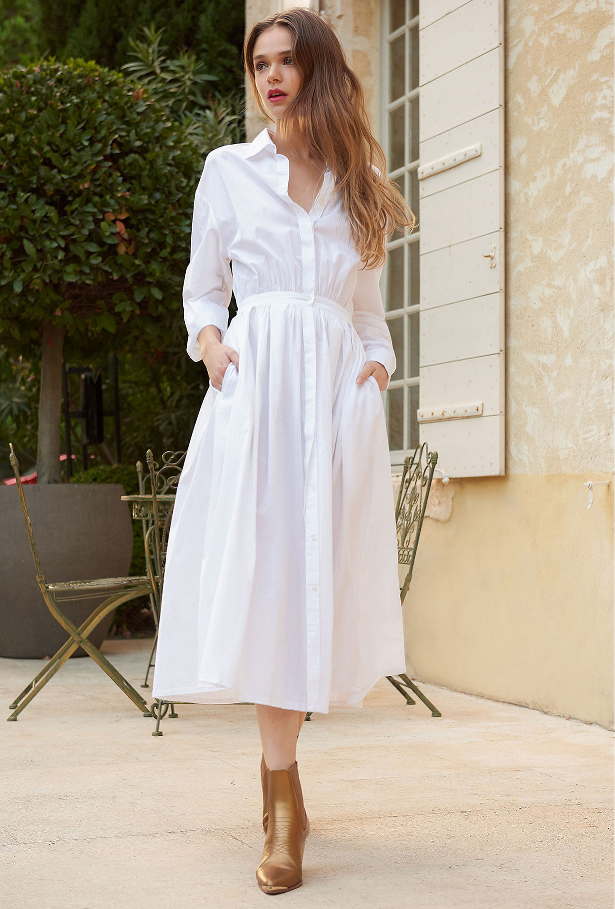 White  Dress  Claudel Mes demoiselles fashion clothes designer Paris