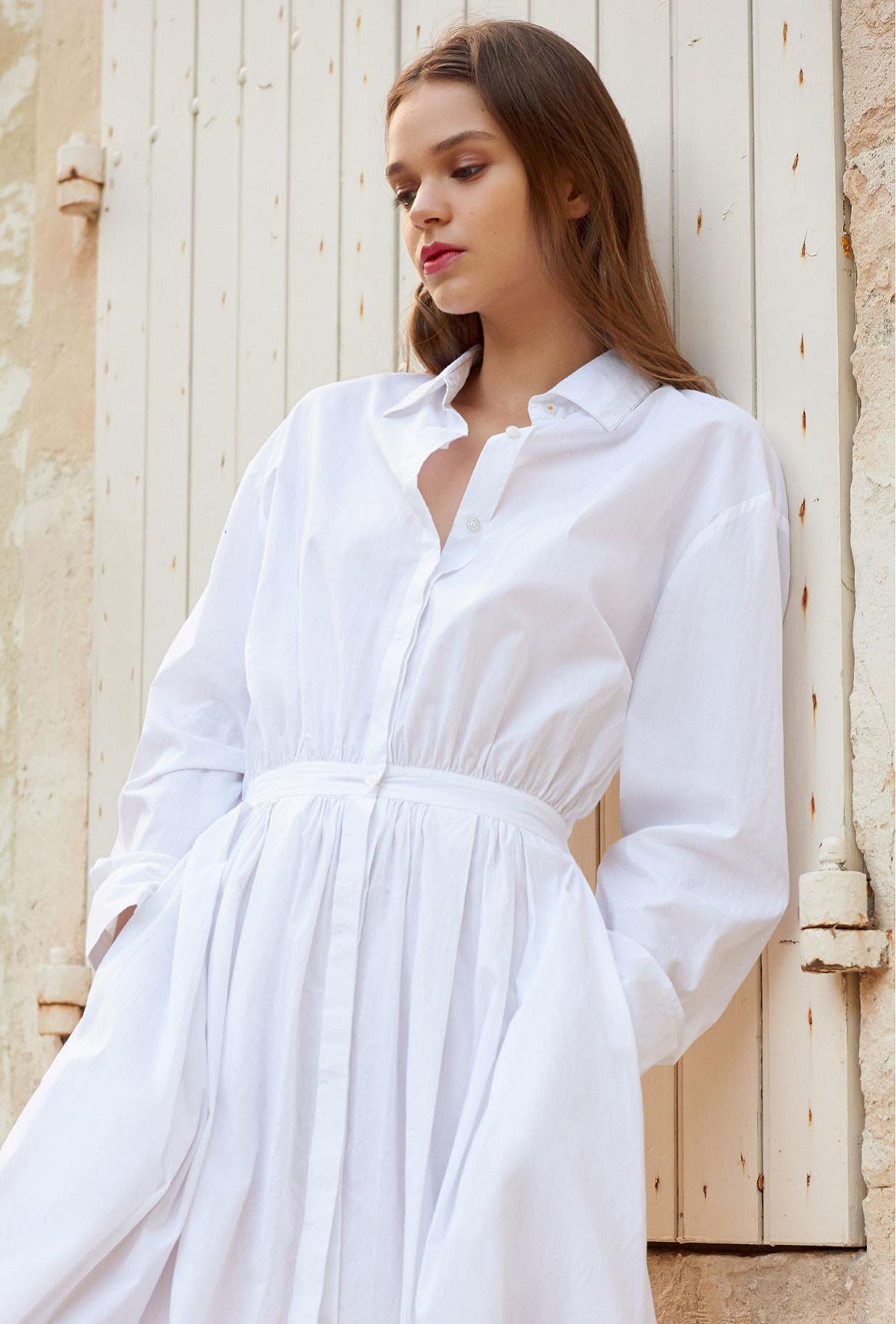 Robe Blanc  Claudel mes demoiselles paris vêtement femme paris