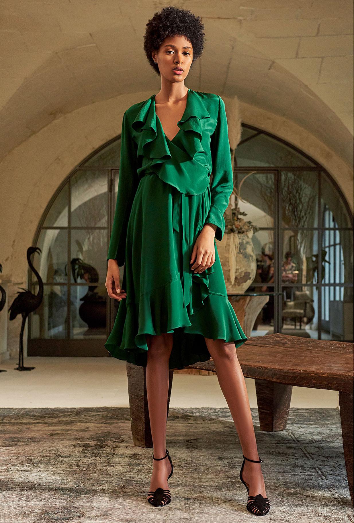 Green Dress Exauce