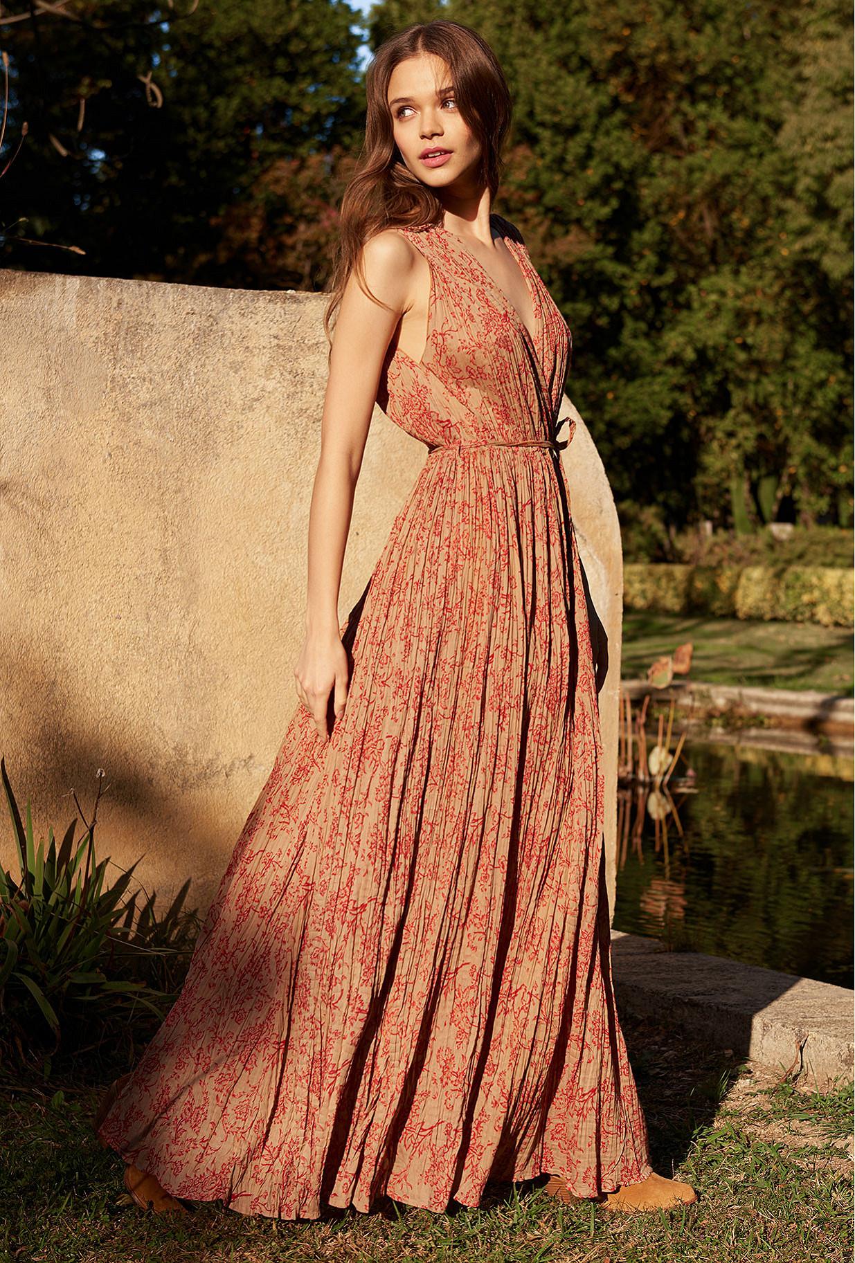 Floral print Dress Joconde