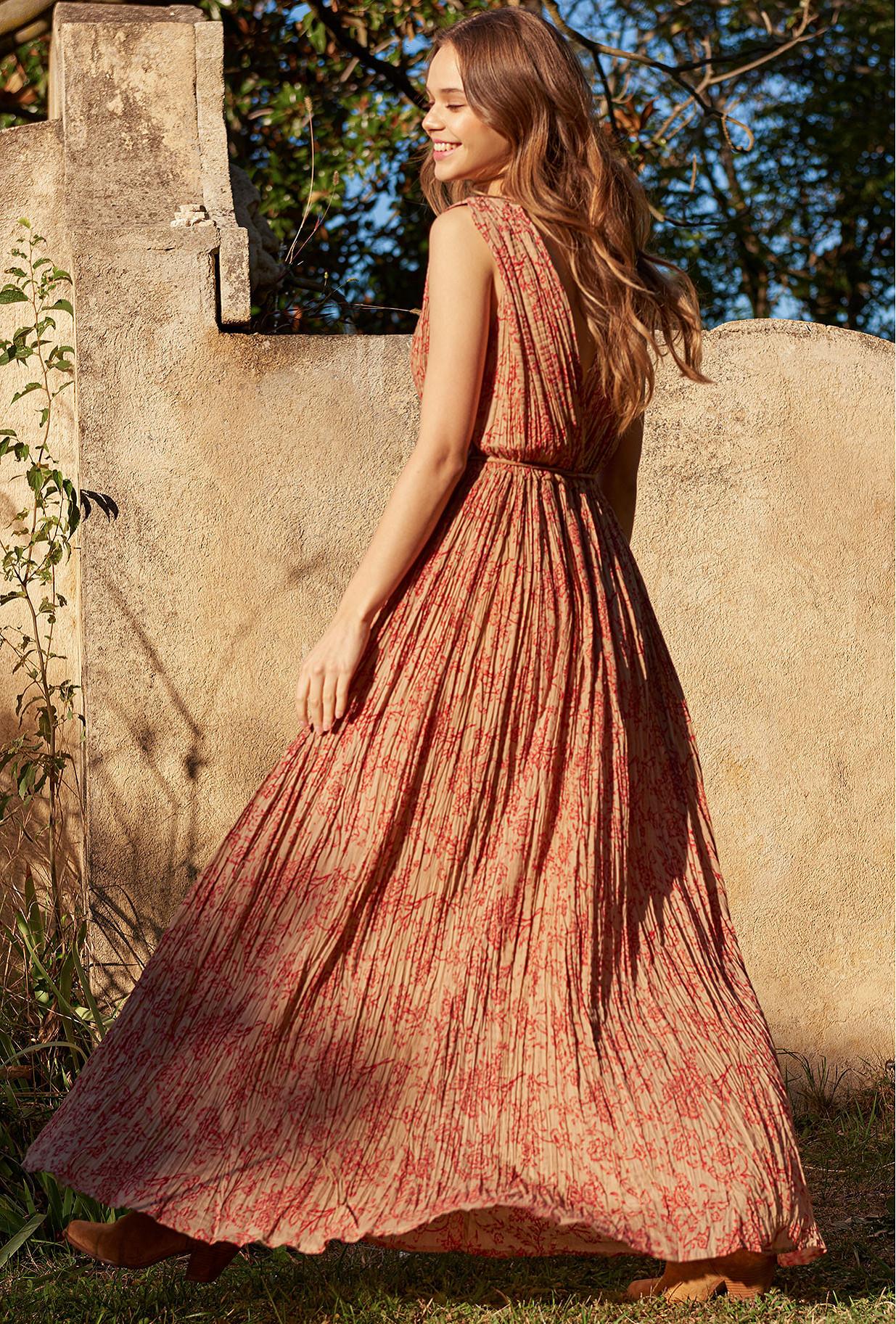 Robe Imprimé floral  Joconde mes demoiselles paris vêtement femme paris