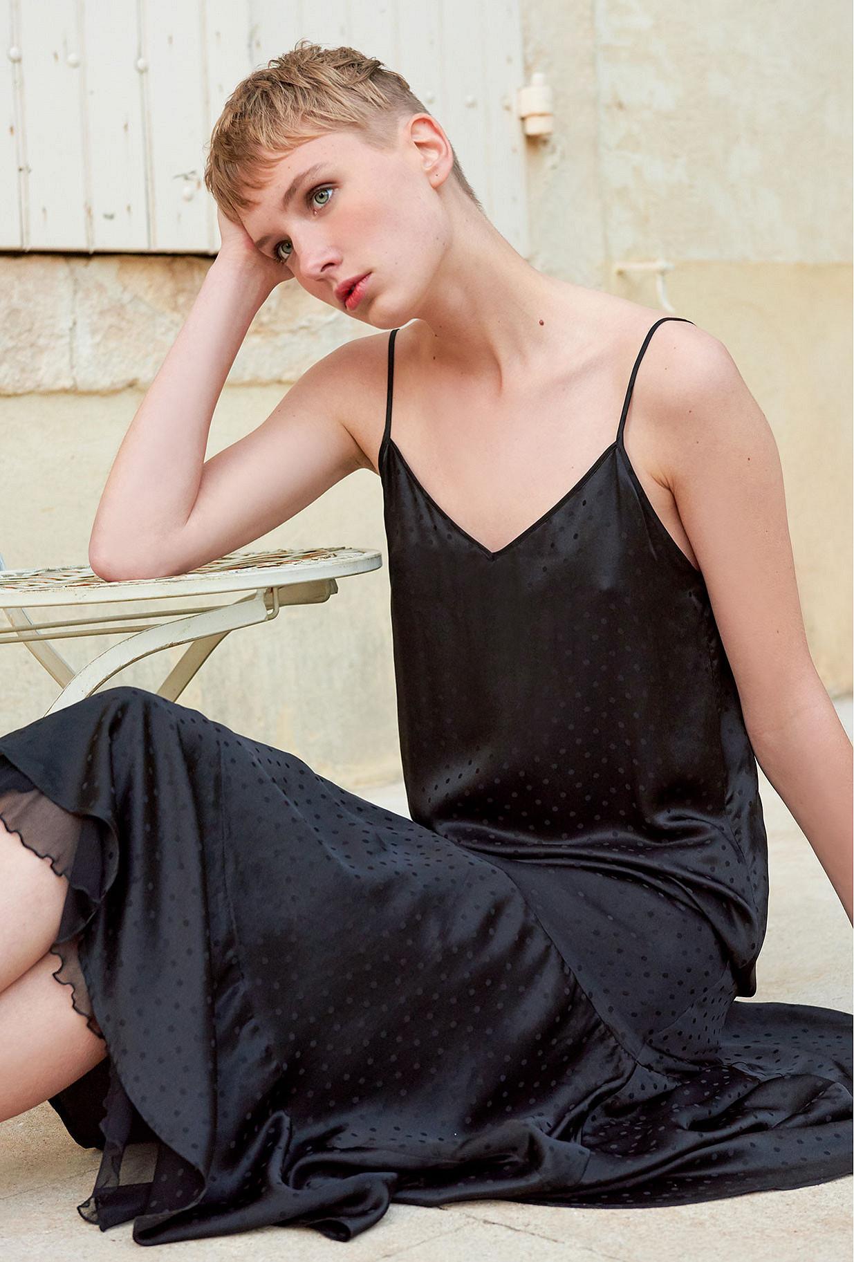 Robe Noir  Suite mes demoiselles paris vêtement femme paris