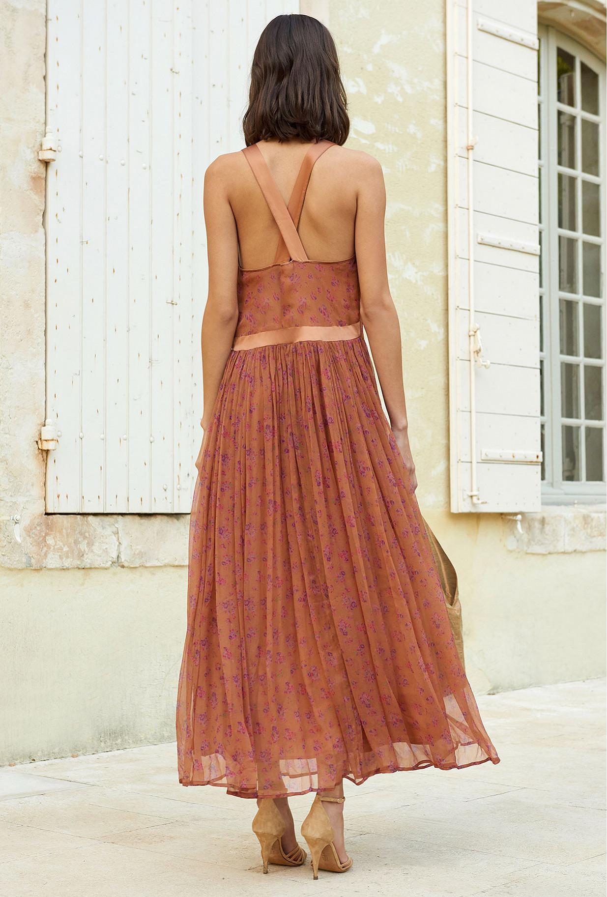 Terracotta Dress Lilies