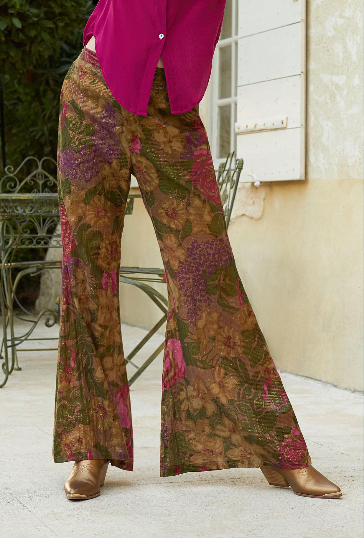 Floral print Pant Aster Mes Demoiselles Paris