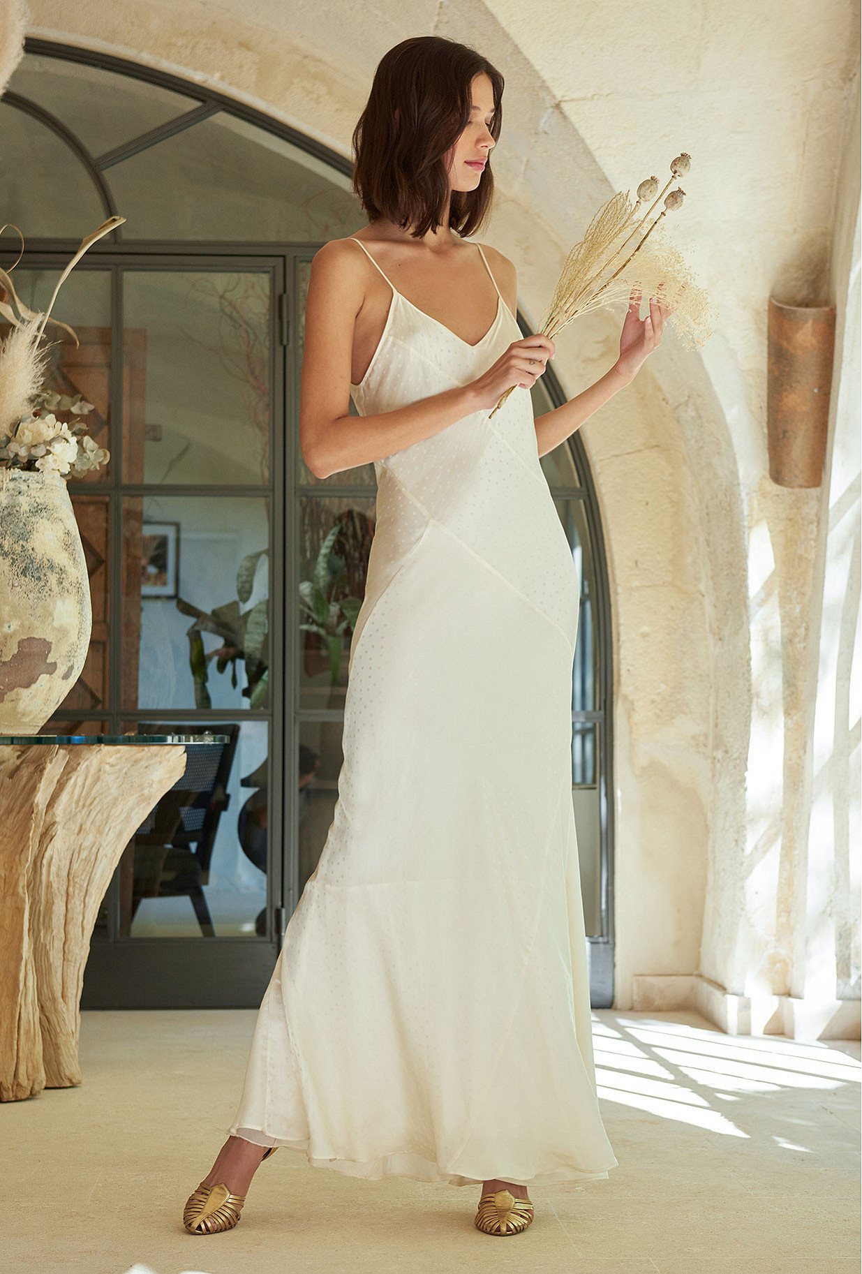 Ivory Dress Sequence