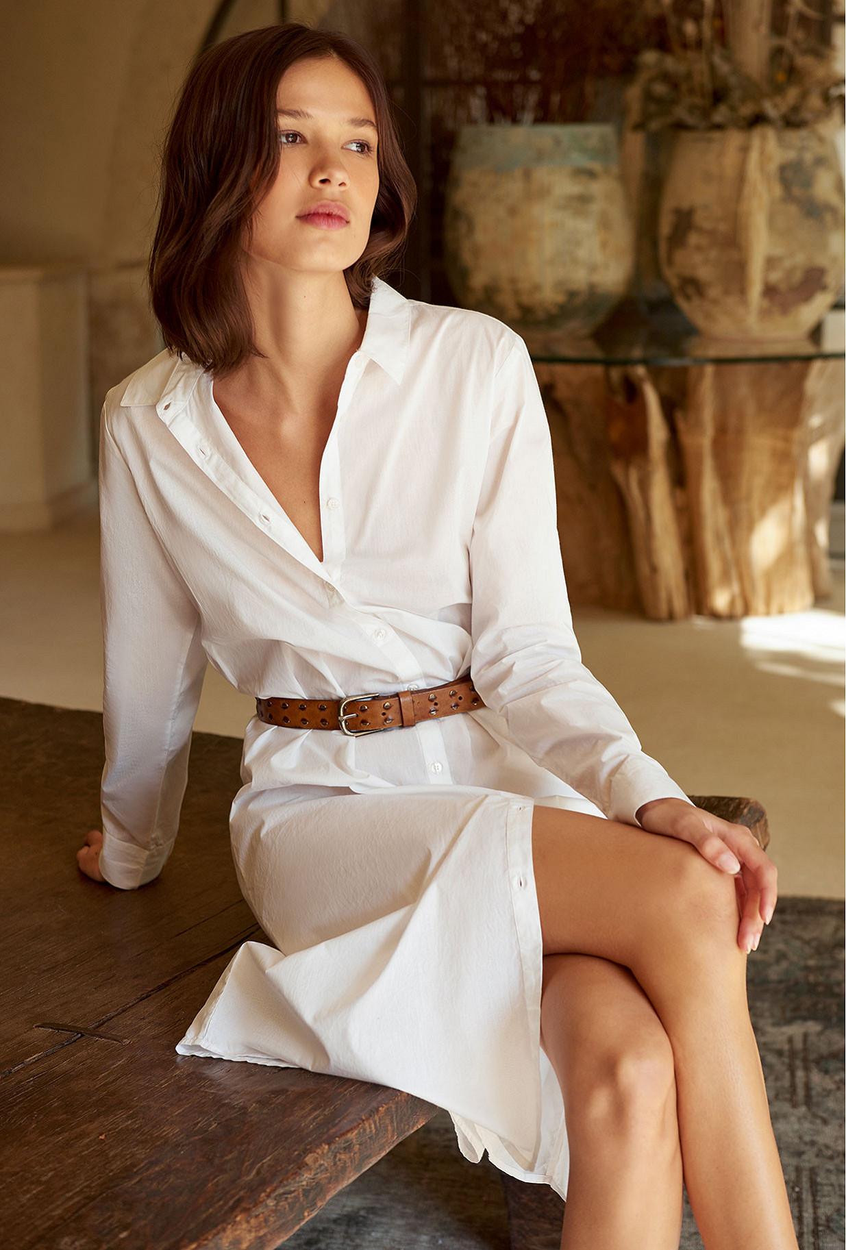 White  Shirt  Clotha Mes demoiselles fashion clothes designer Paris