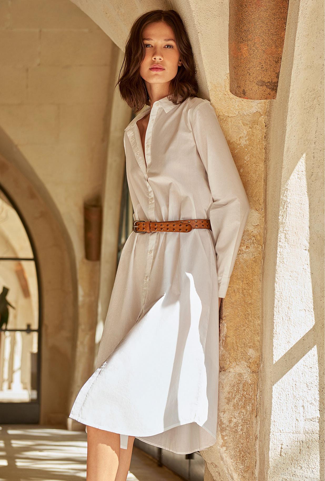 Chemise Blanc  Clotha mes demoiselles paris vêtement femme paris