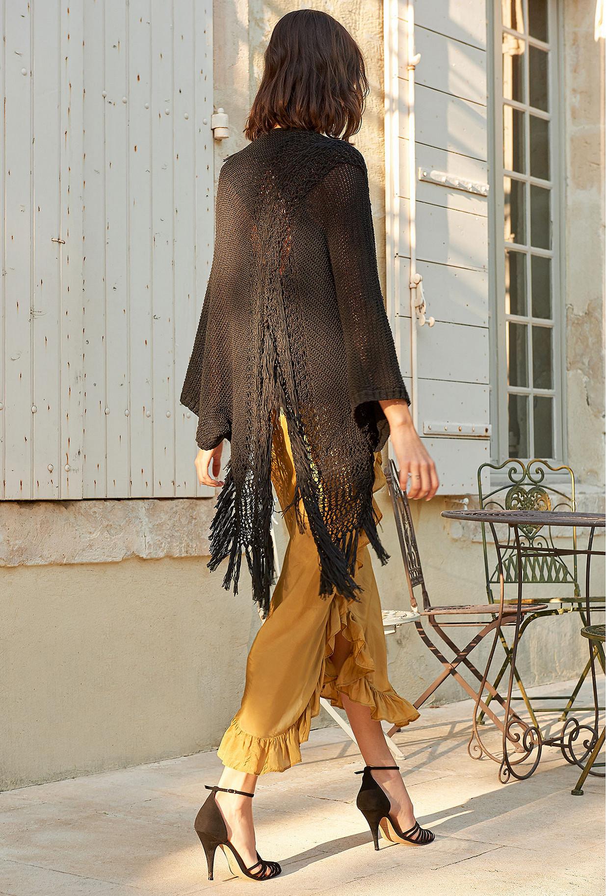 Paris clothes store Cardigan  Caicos french designer fashion Paris