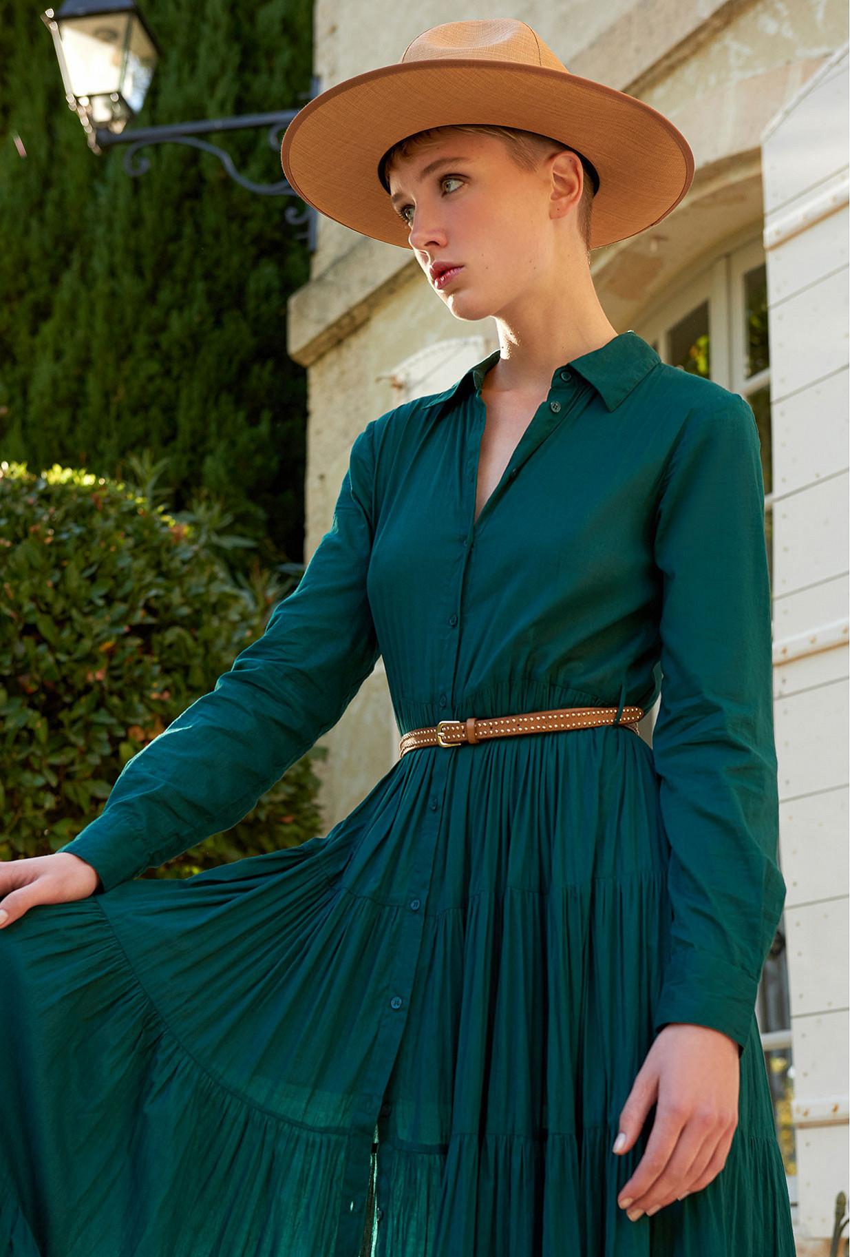 Emerald Dress Calam