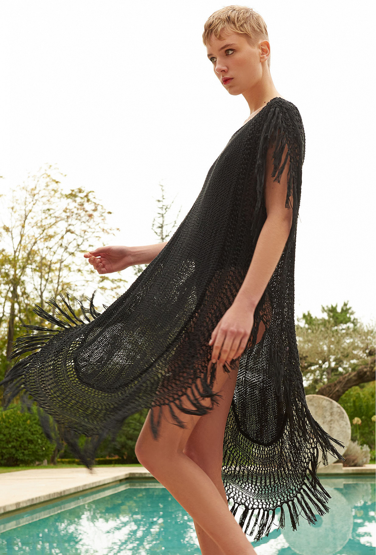 women clothes Poncho  Cannon