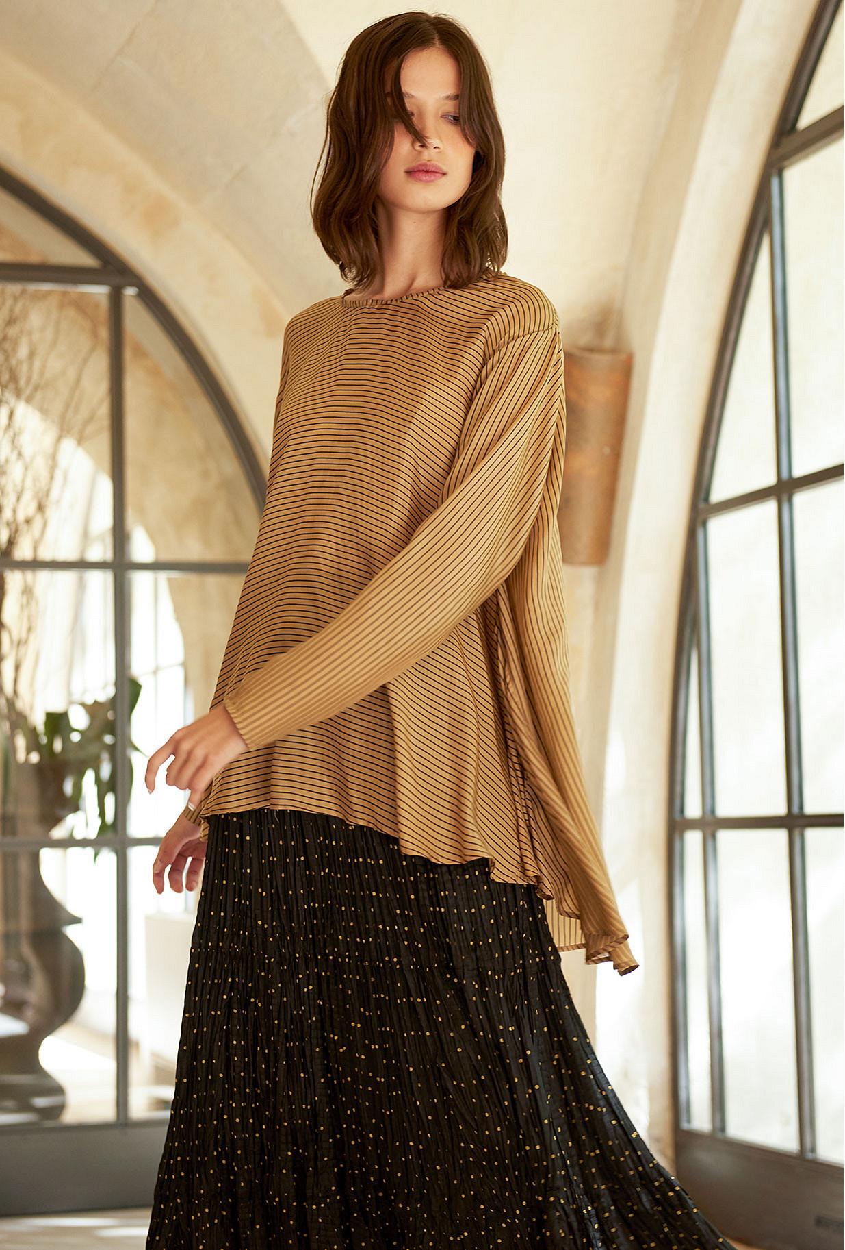 Sand  Blouse  Charmeuse Mes demoiselles fashion clothes designer Paris
