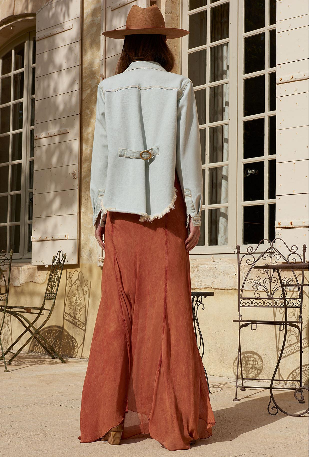 Veste Bleu clair  Cabriere mes demoiselles paris vêtement femme paris