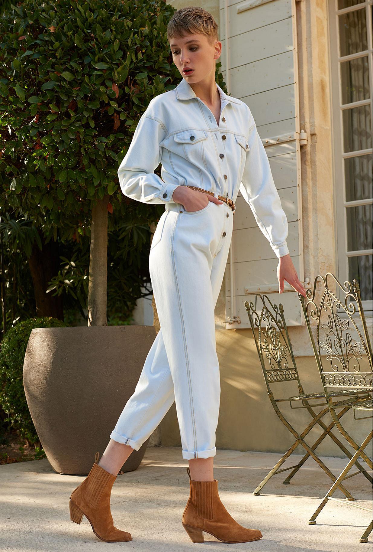 Combinaison Bleu clair  Cevennes mes demoiselles paris vêtement femme paris