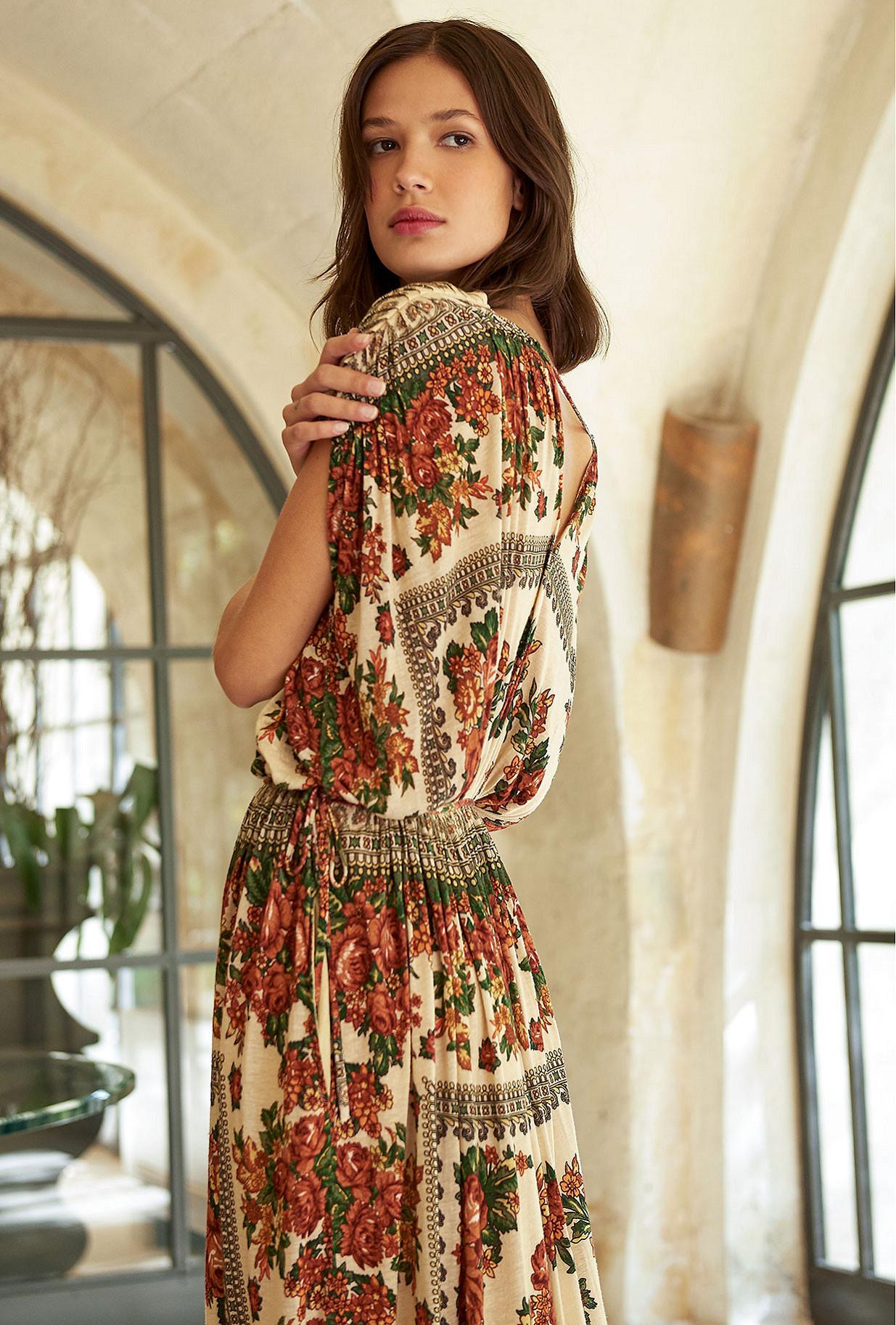 Robe Imprimé fleuri  Katrina mes demoiselles paris vêtement femme paris