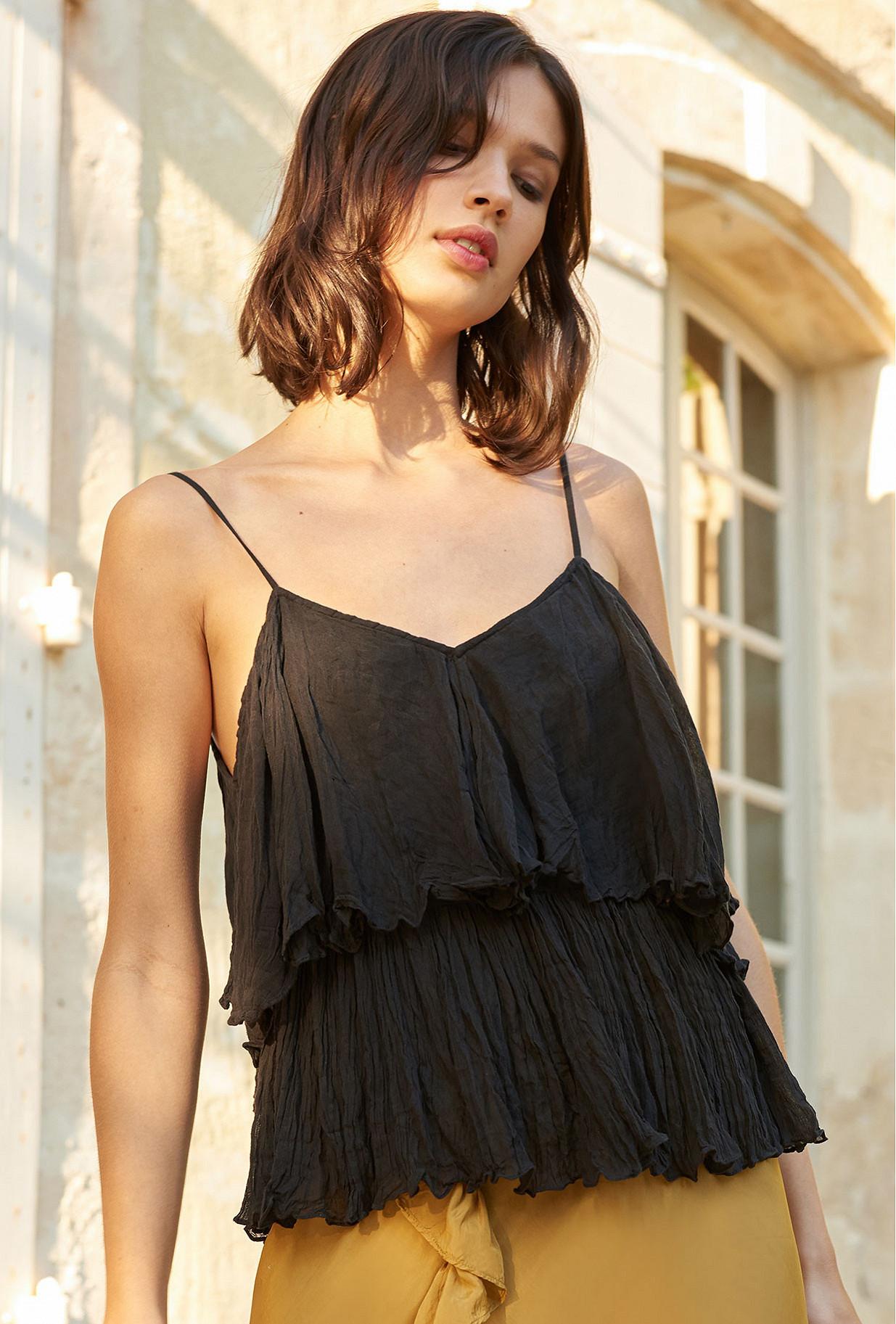 Top Noir  Volupte mes demoiselles paris vêtement femme paris