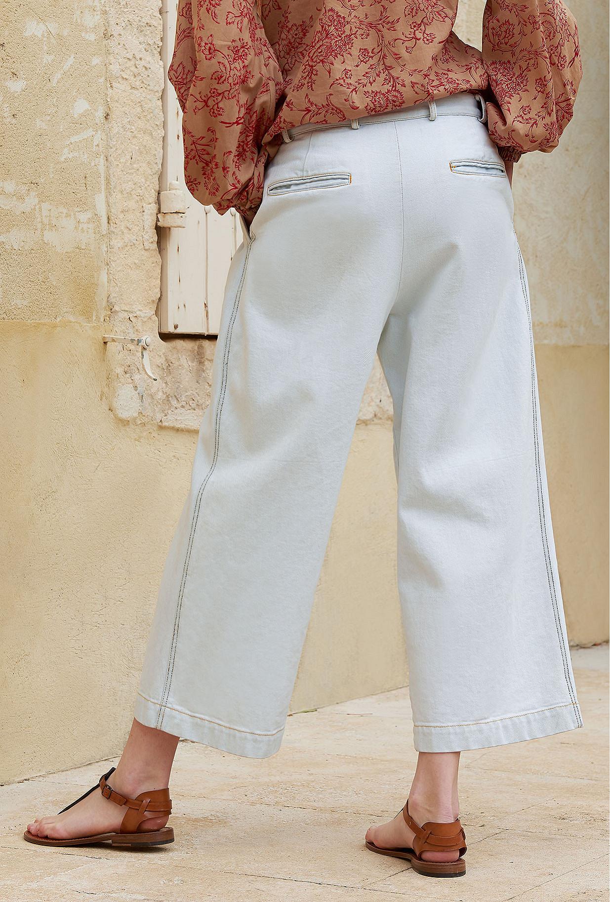 Light blue Pant Colline