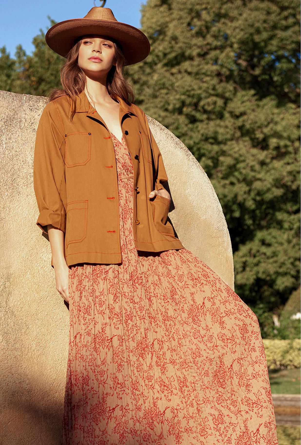 Khaki  Jacket  Levis Mes demoiselles fashion clothes designer Paris