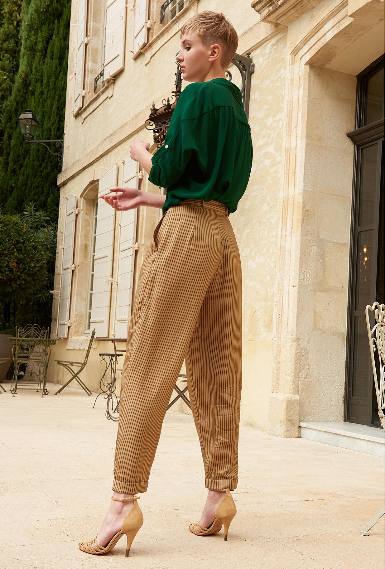 Sand  Pant  Chandelle Mes demoiselles fashion clothes designer Paris