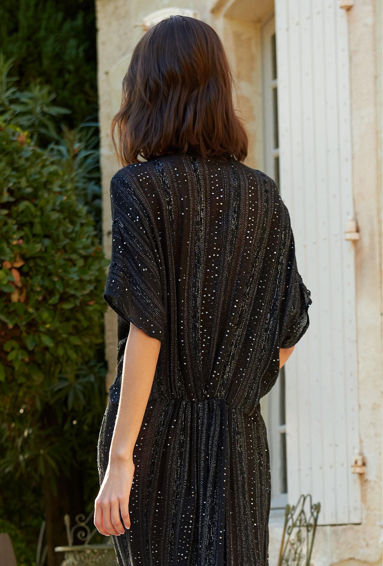 Robe Noir  Samsara mes demoiselles paris vêtement femme paris