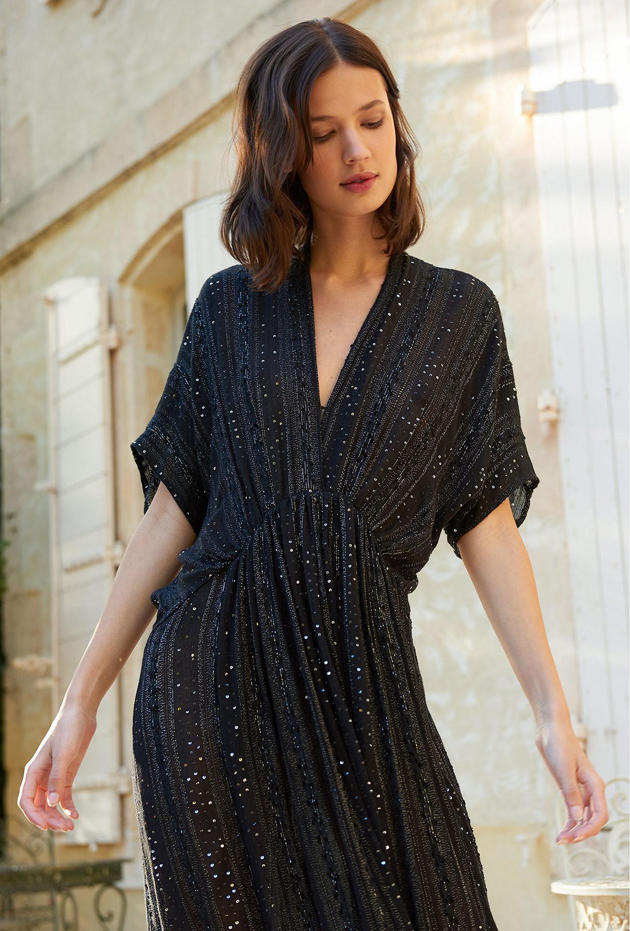Black  Dress  Samsara Mes demoiselles fashion clothes designer Paris