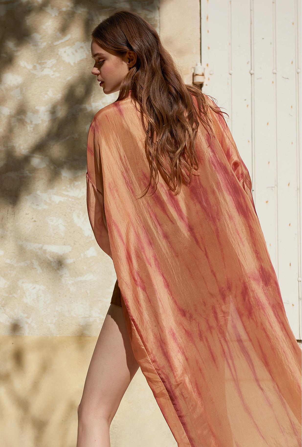 Nude Kimono Calcium