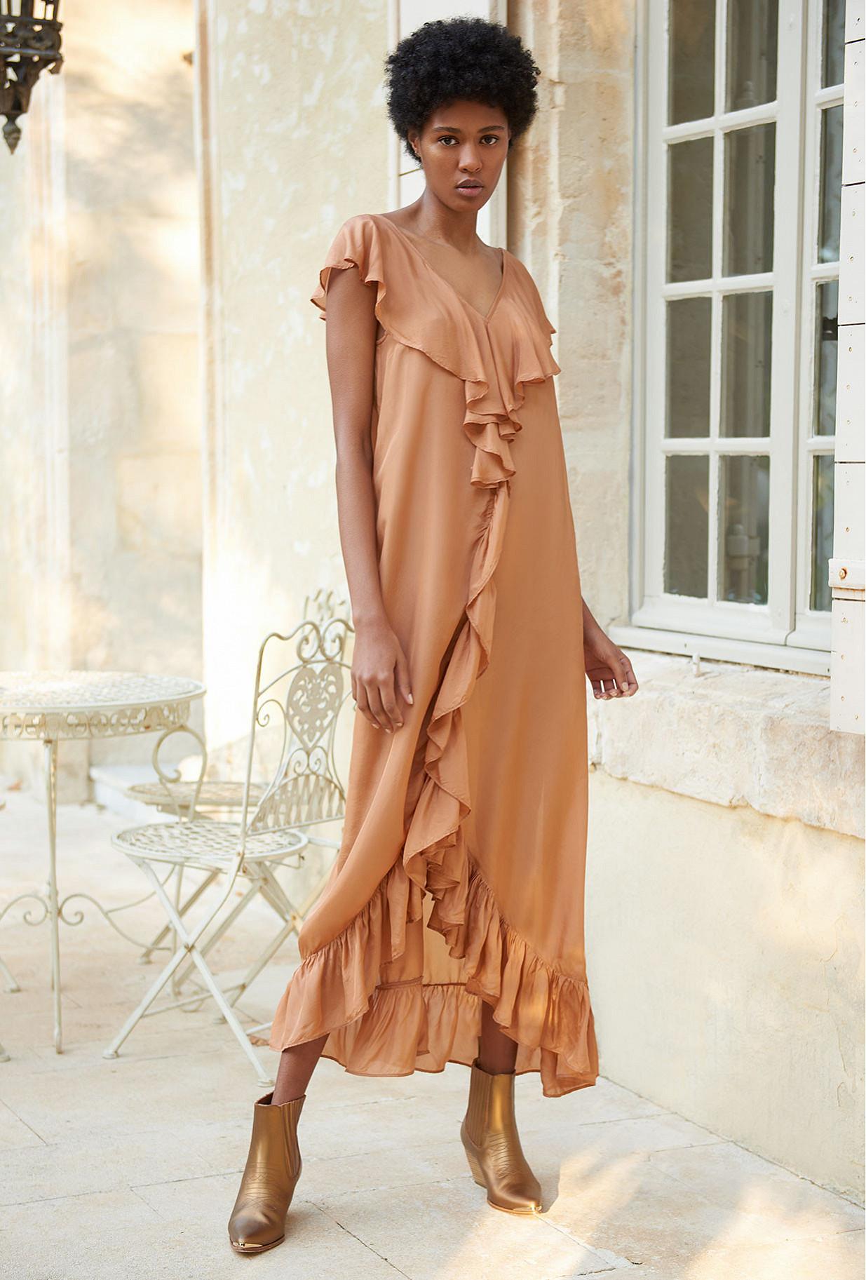 Nude  Dress  Cumbre Mes demoiselles fashion clothes designer Paris
