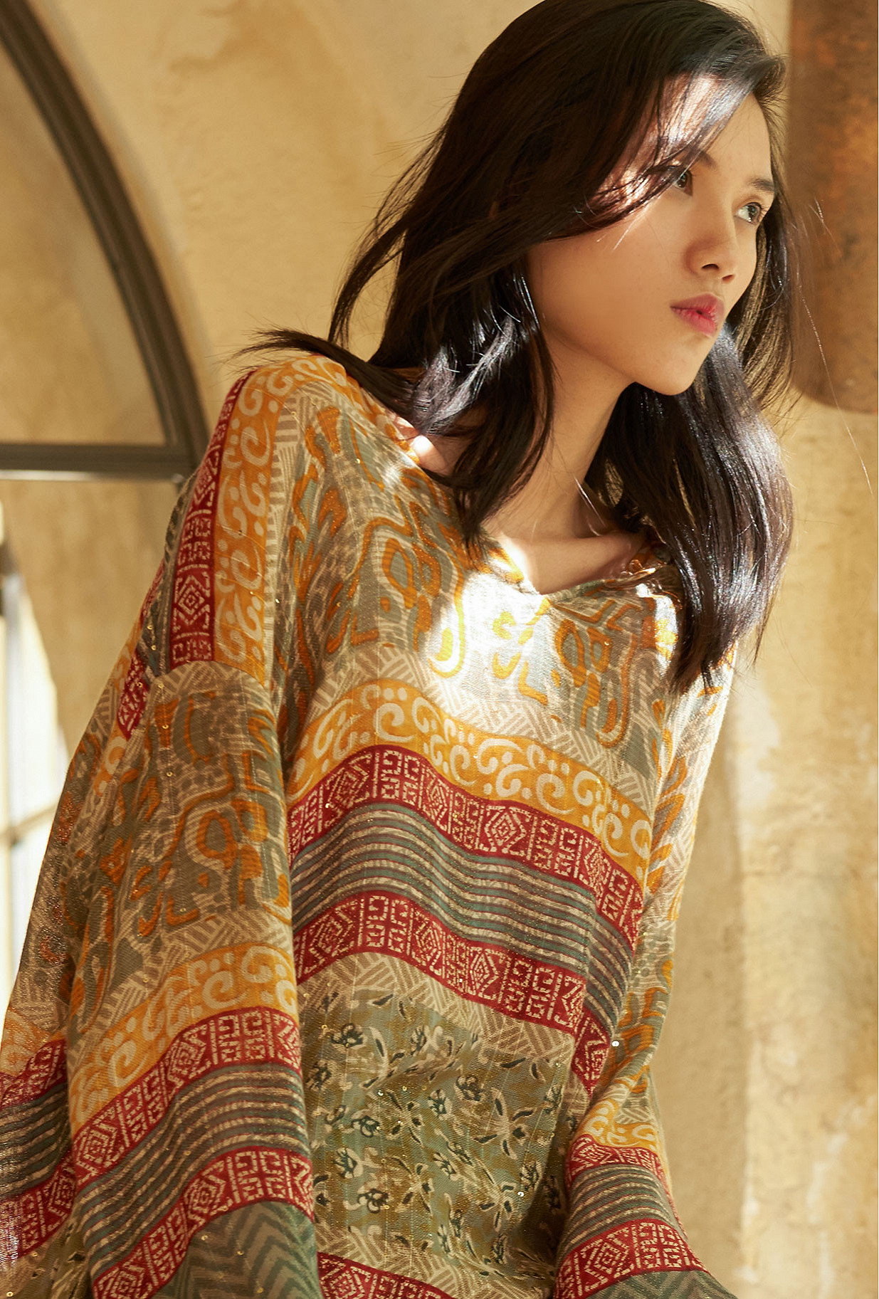women clothes Blouse  Kanji