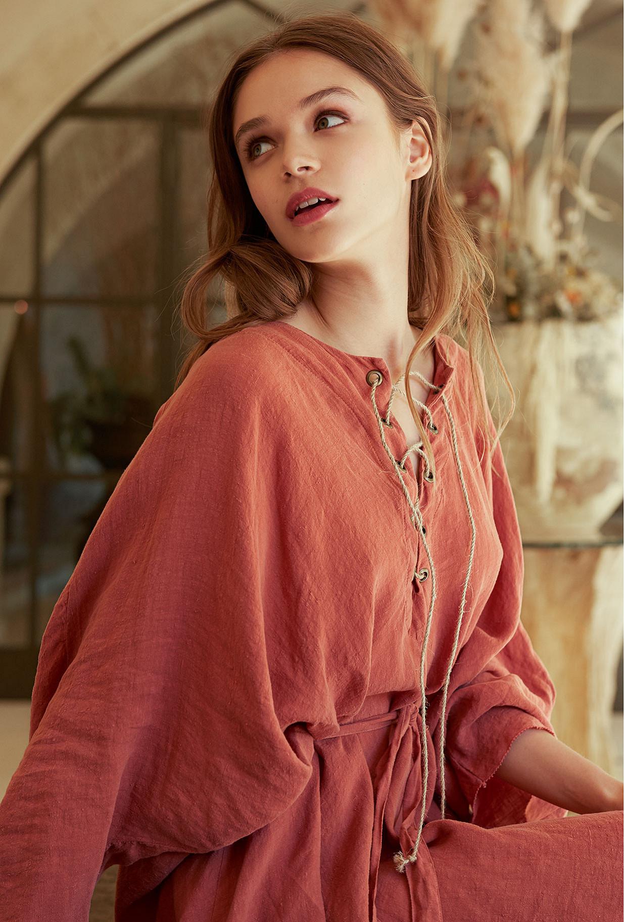 Robe Rose  Paraiso mes demoiselles paris vêtement femme paris