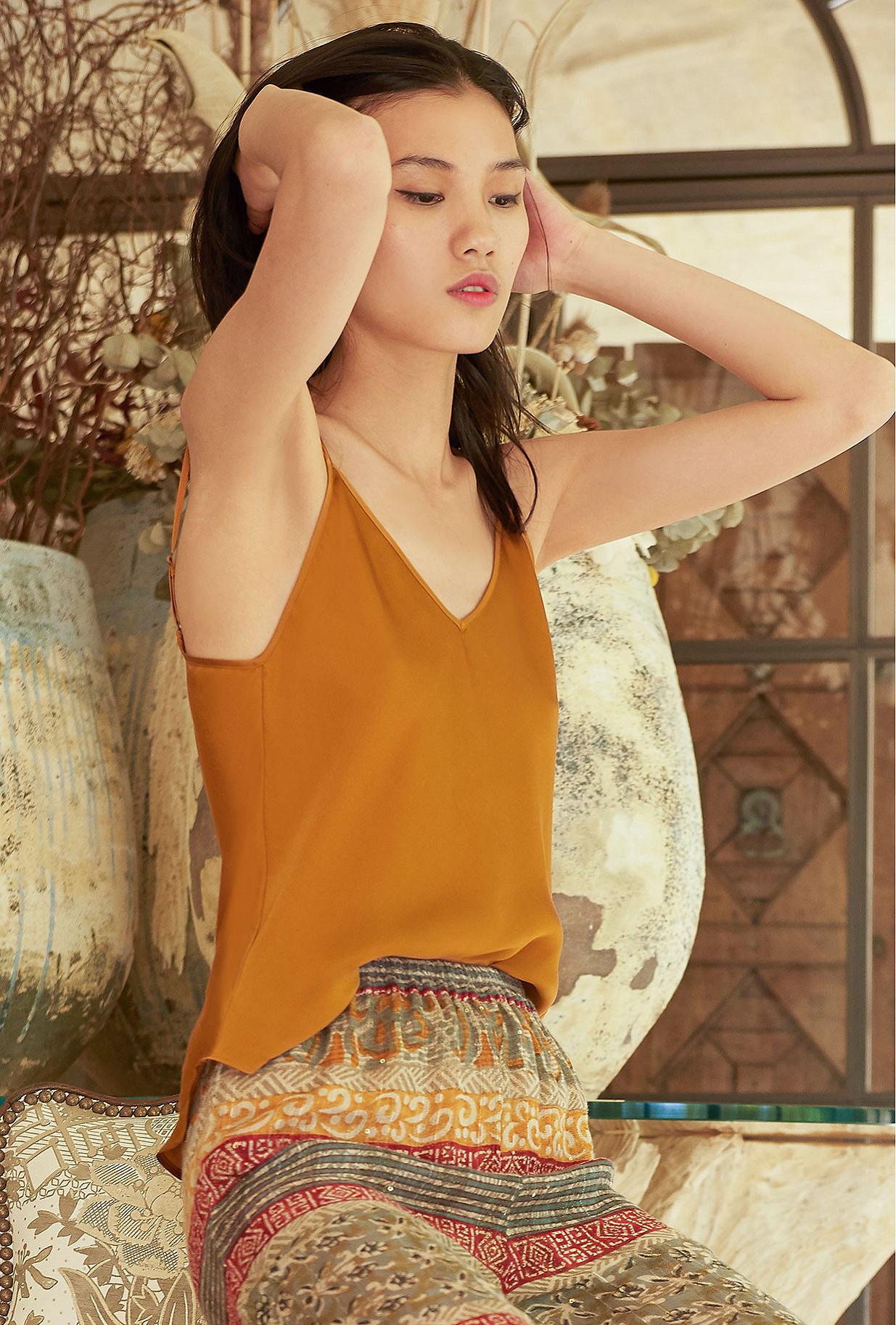 Ocre  Top  Trask Mes demoiselles fashion clothes designer Paris