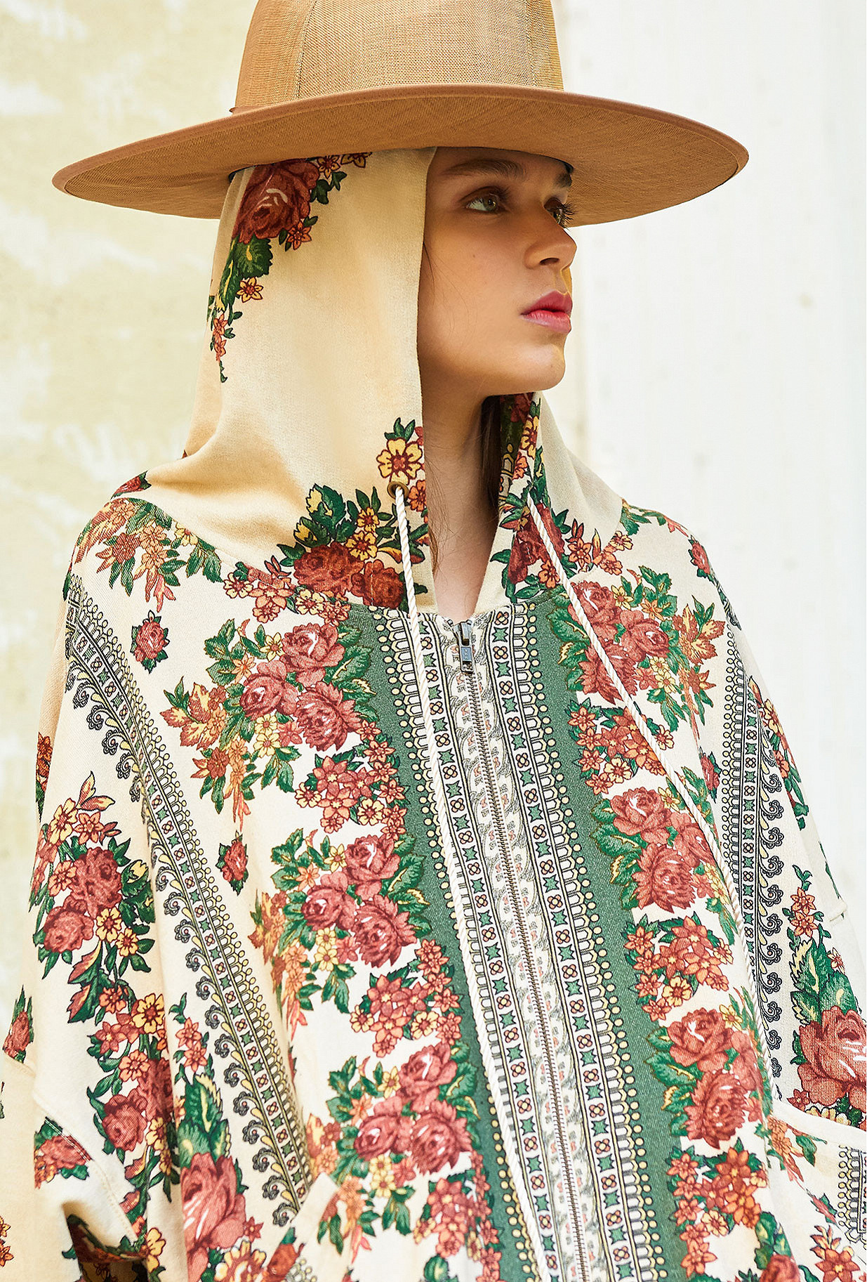 Floral print Cardigan Massilia