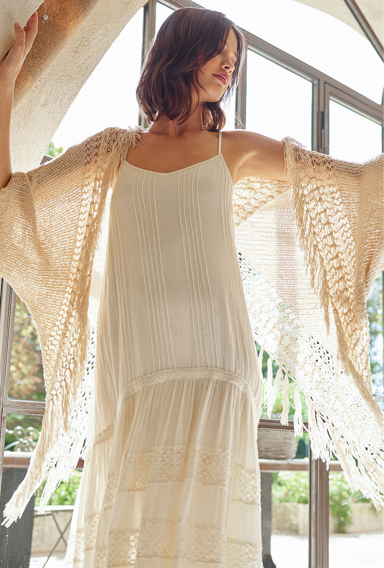White  Dress  Gloria Mes demoiselles fashion clothes designer Paris