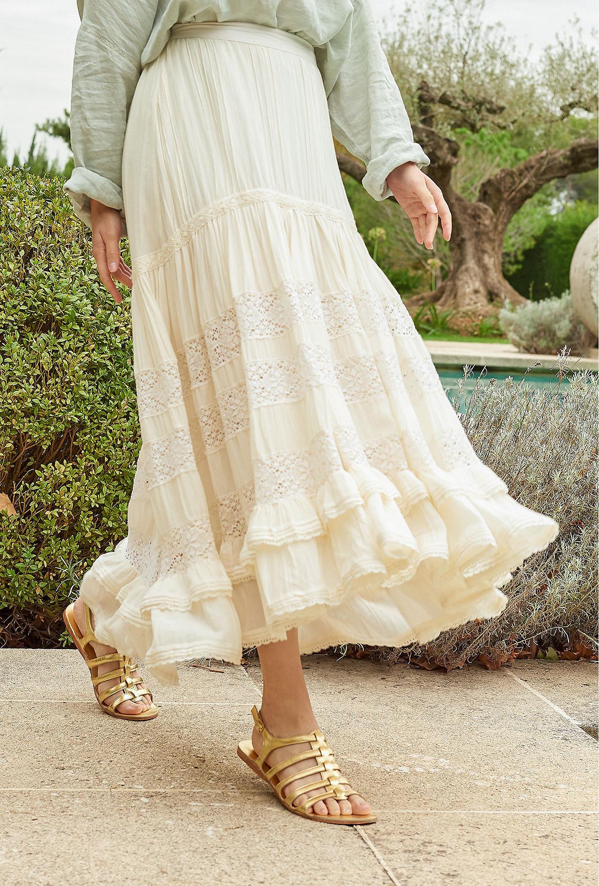 White  Skirt  Gretchen Mes demoiselles fashion clothes designer Paris