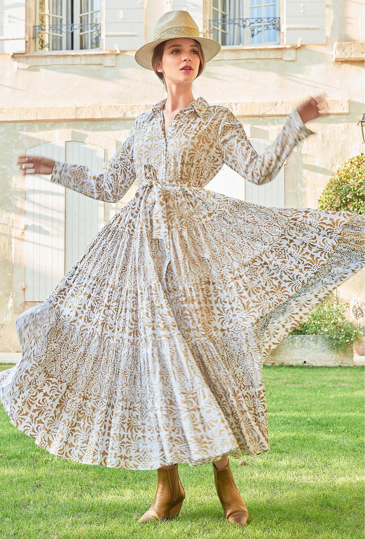 Ivory  Dress  Marathi Mes demoiselles fashion clothes designer Paris