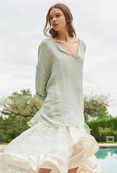 Blouse Aqua  Palawan mes demoiselles paris vêtement femme paris