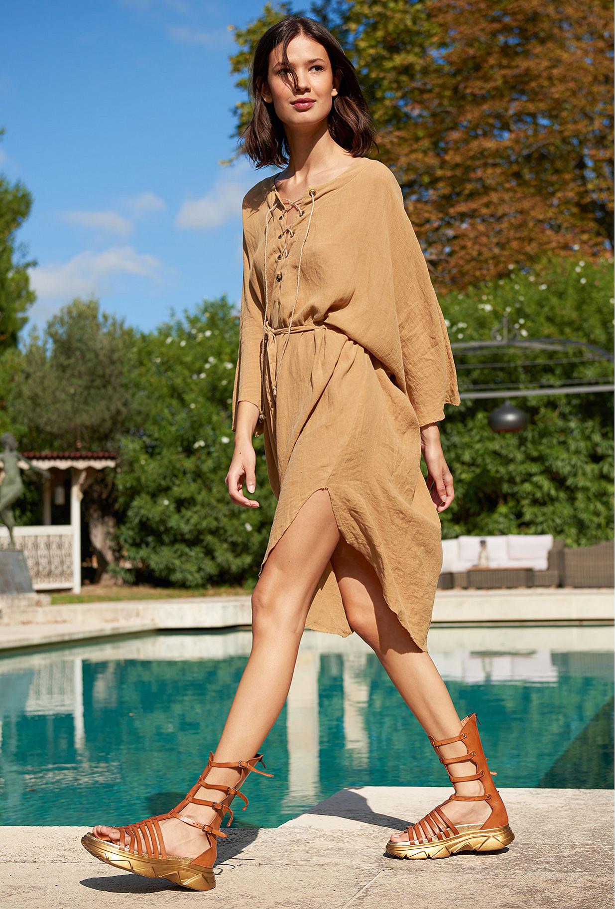 Sand  Dress  Paraiso Mes demoiselles fashion clothes designer Paris