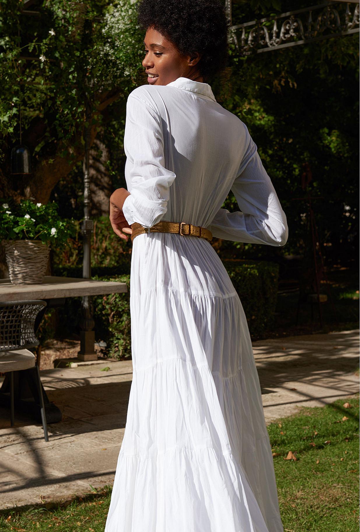 Robe Blanc Calam Mes Demoiselles Paris