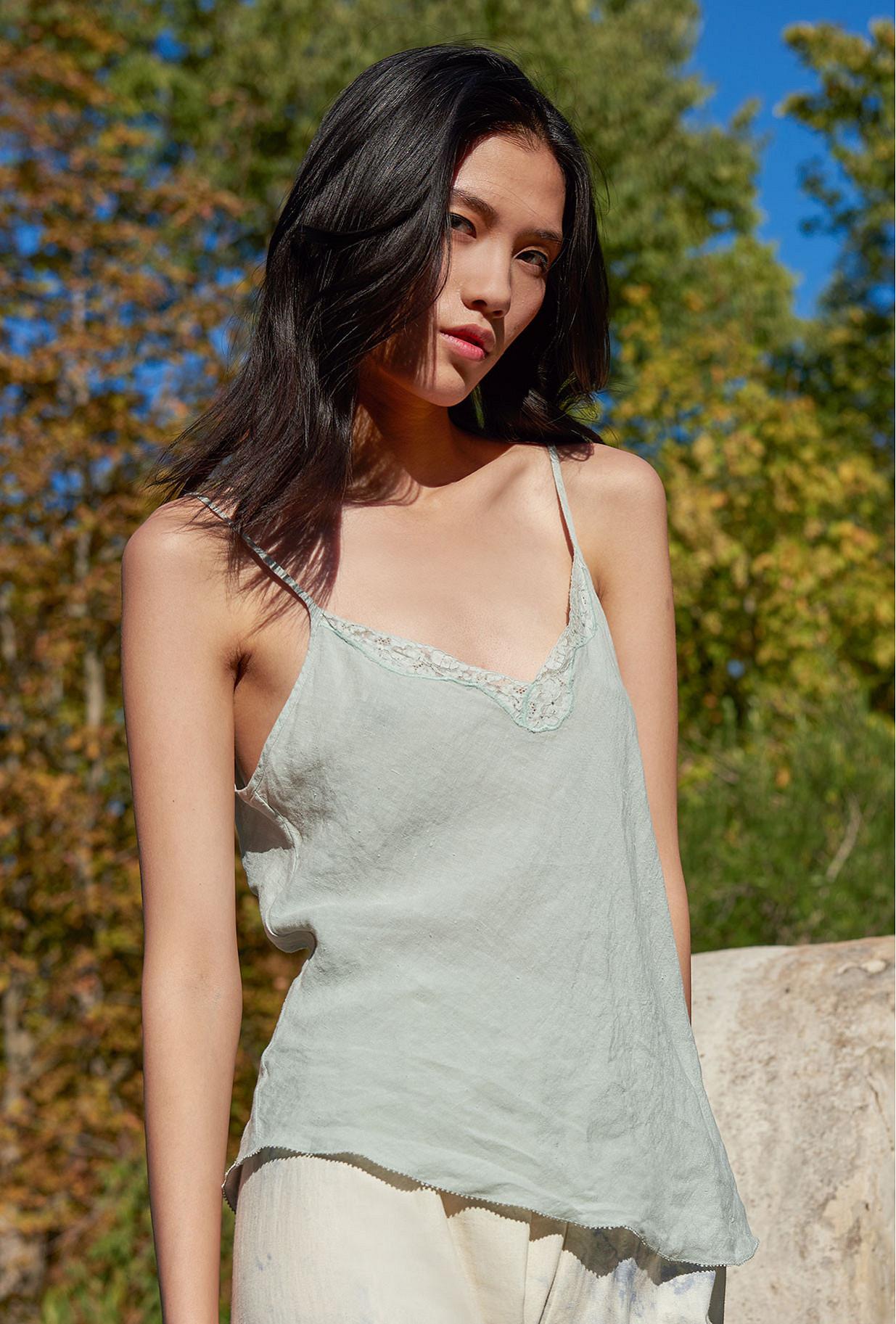 Aqua  Top  Praslin Mes demoiselles fashion clothes designer Paris