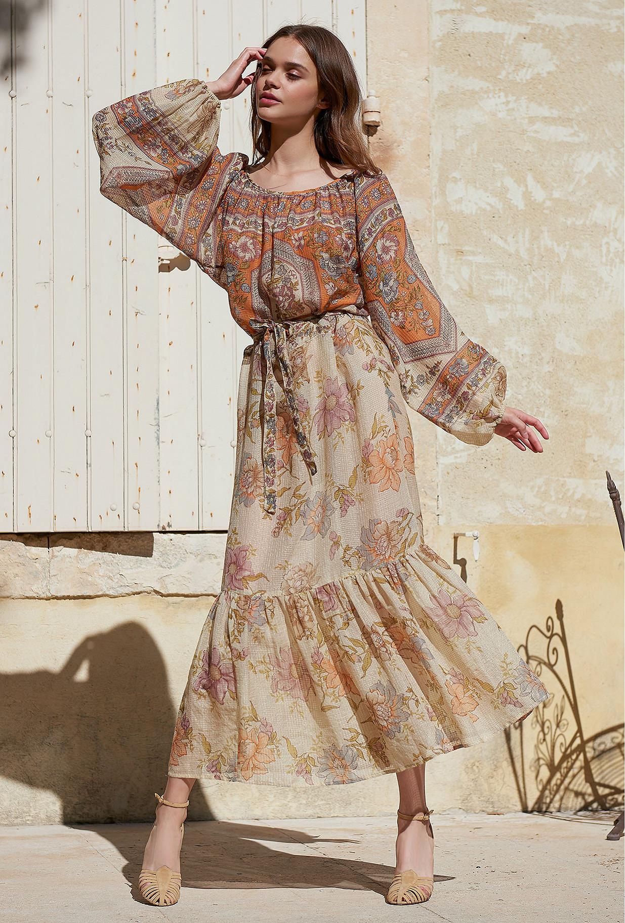 Robe Floral combo  Reunion mes demoiselles paris vêtement femme paris