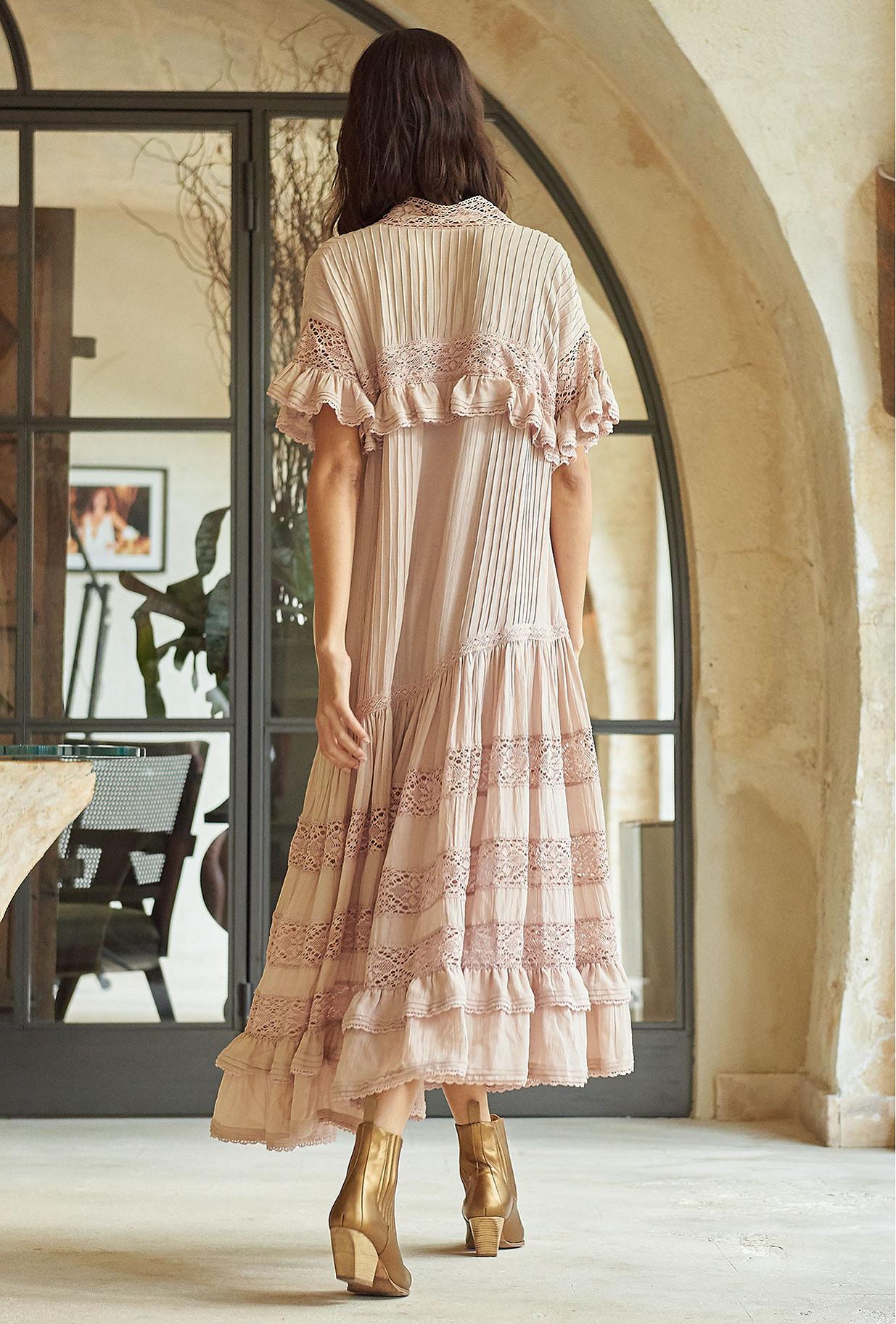Pink  Dress  Georgina Mes demoiselles fashion clothes designer Paris