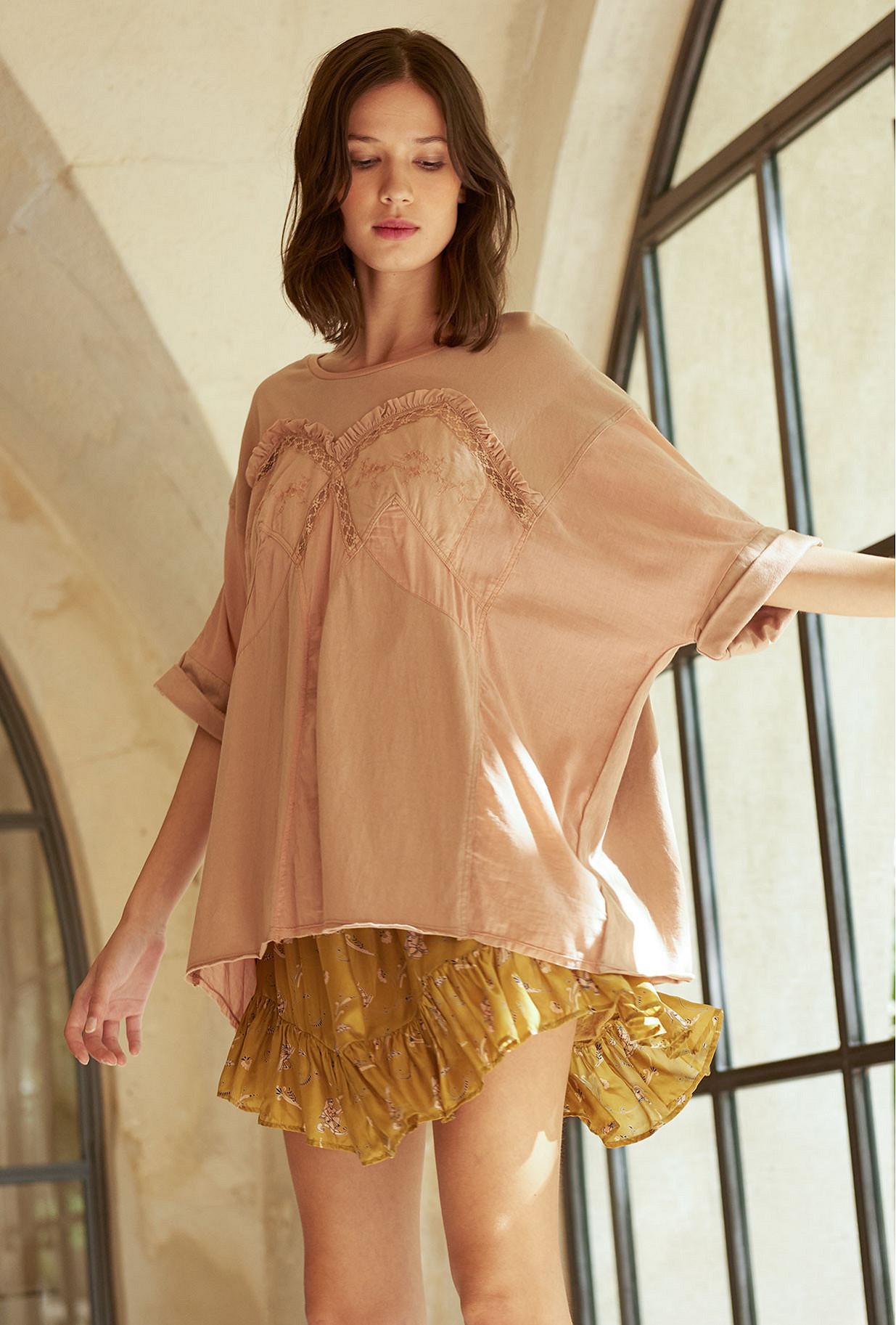 Nude  Top  Moore Mes demoiselles fashion clothes designer Paris