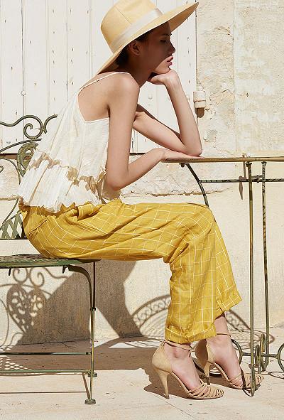 vêtement femme paris Pantalon Calypso