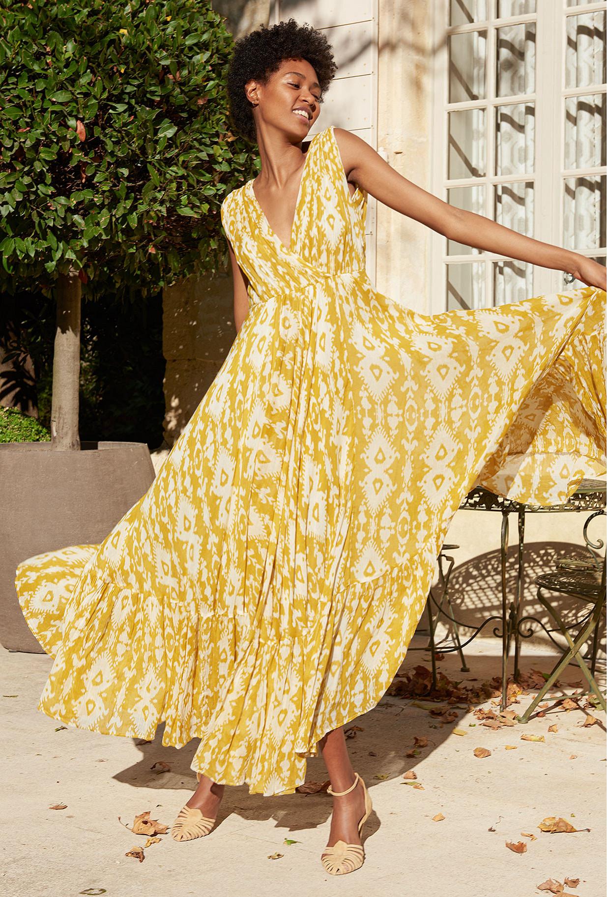 vêtement femme paris Robe Samarcande
