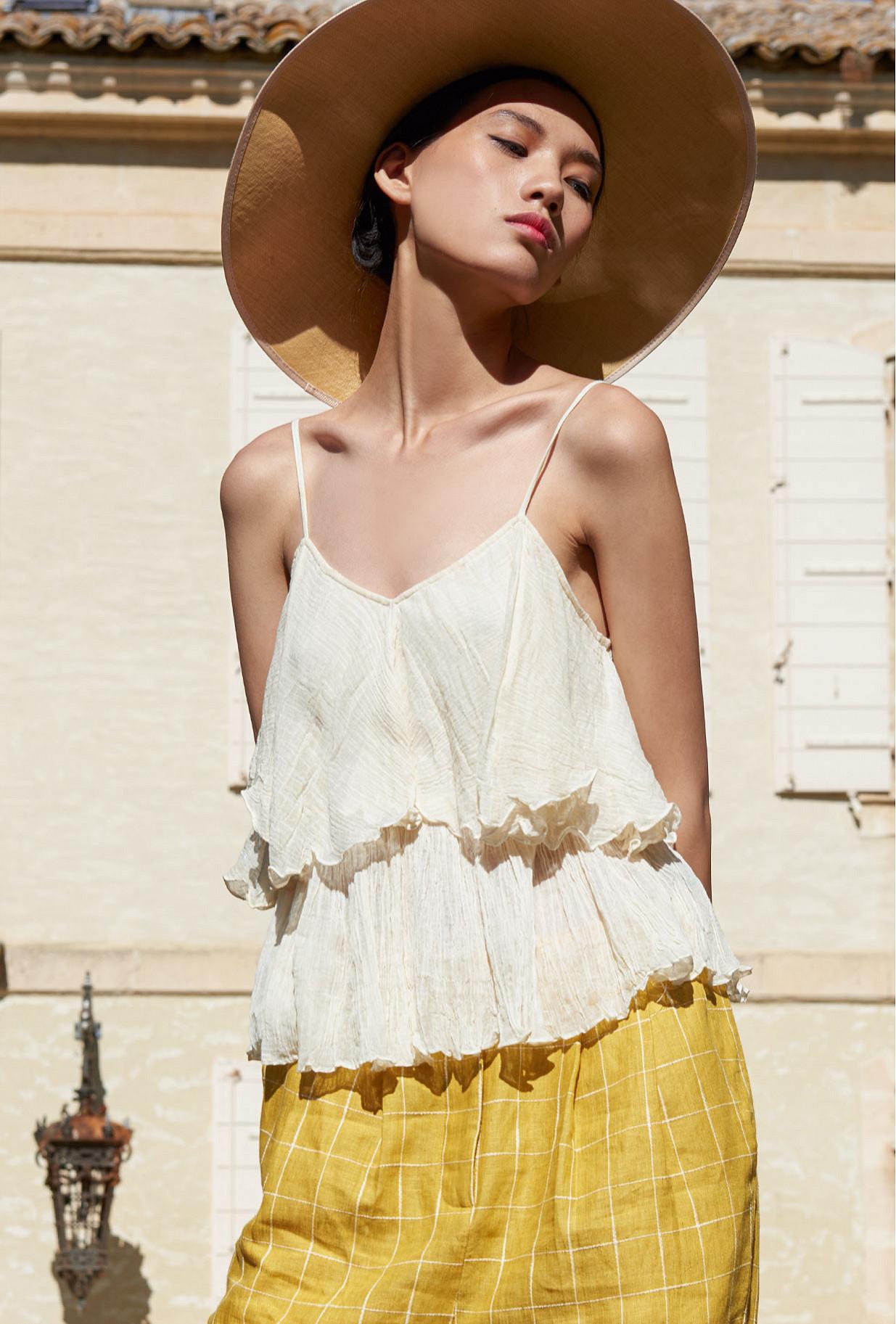 Ivory  Top  Volupte Mes demoiselles fashion clothes designer Paris