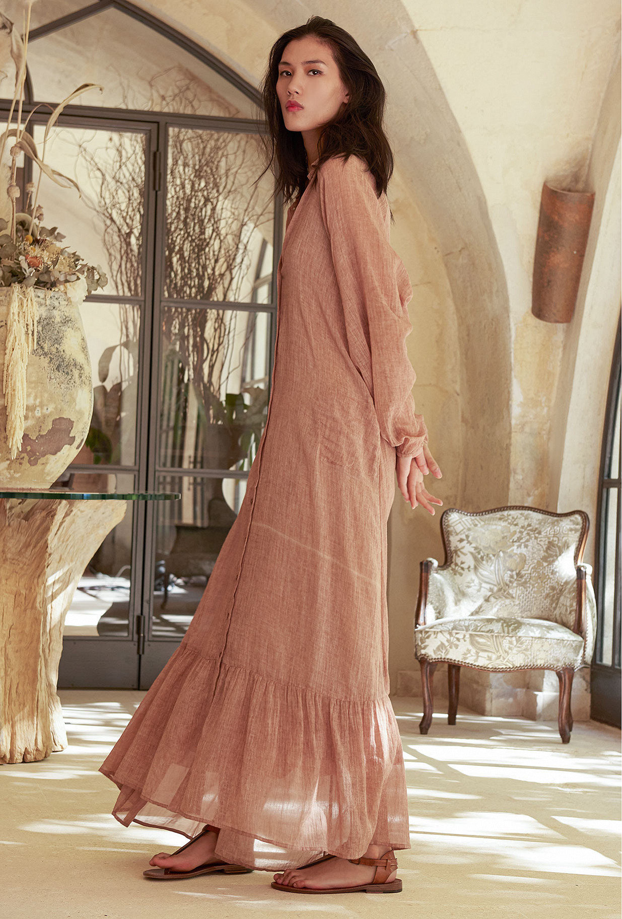 Robe Poudre Chambellan