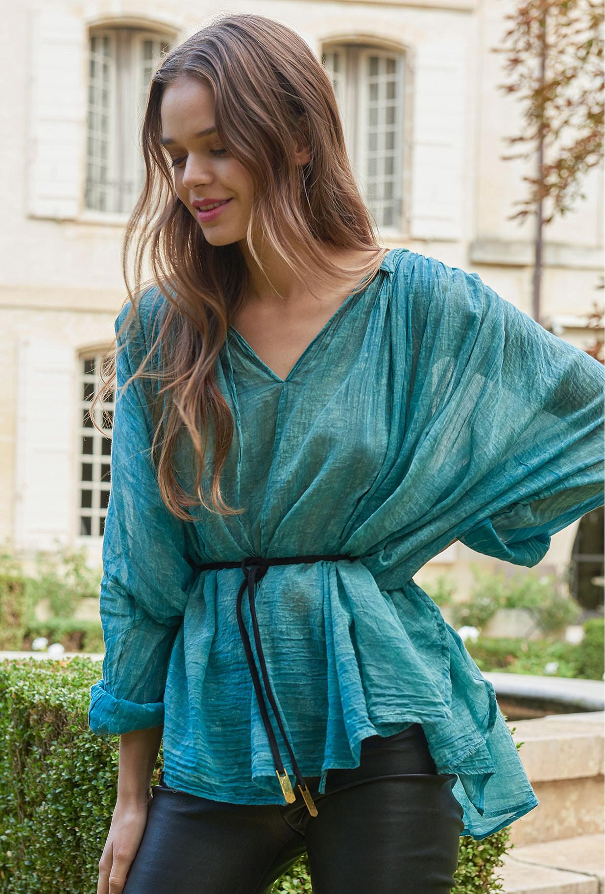 Blue Blouse Paysage Mes Demoiselles Paris