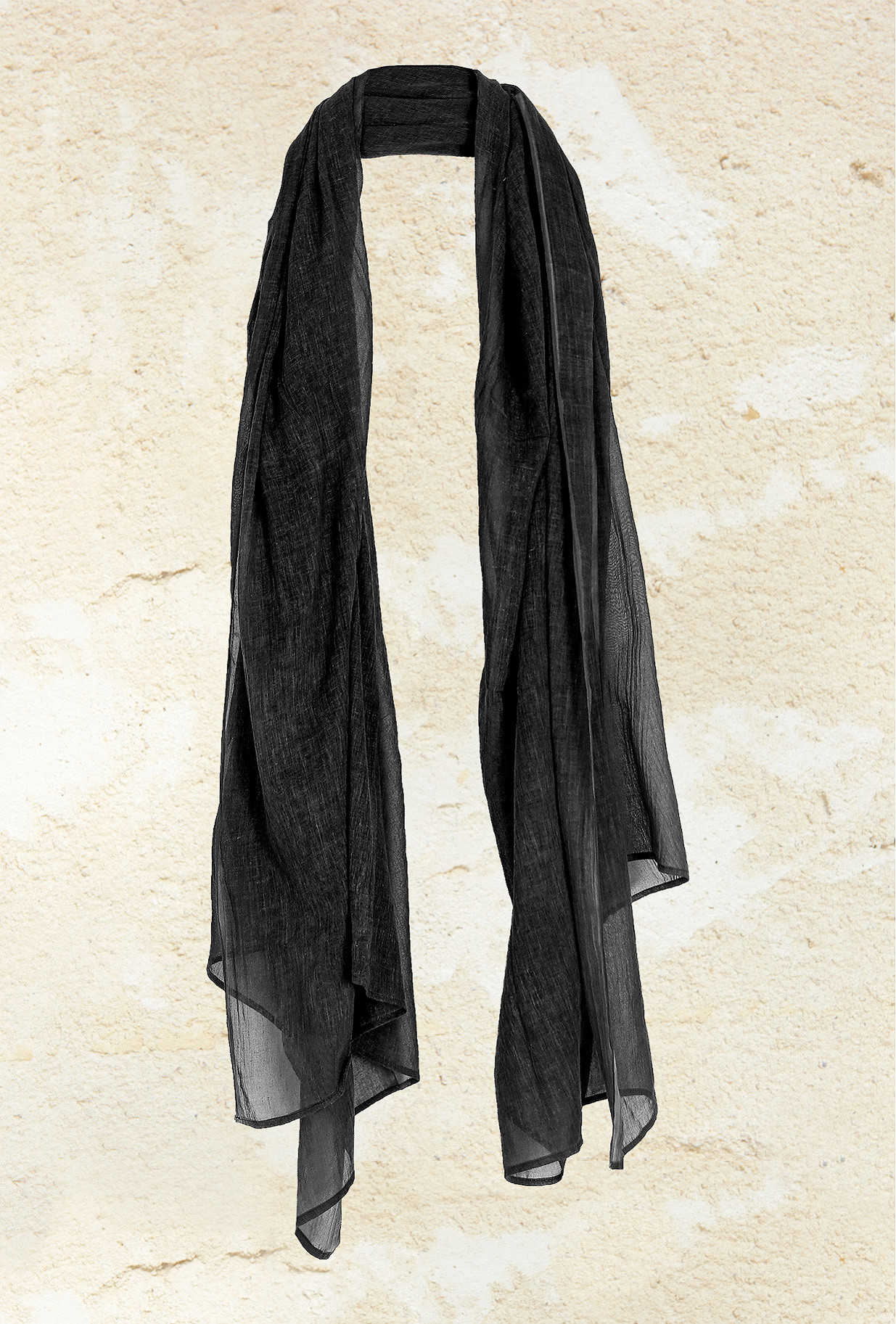 Charcoal  Scarf  Charp Mes demoiselles fashion clothes designer Paris