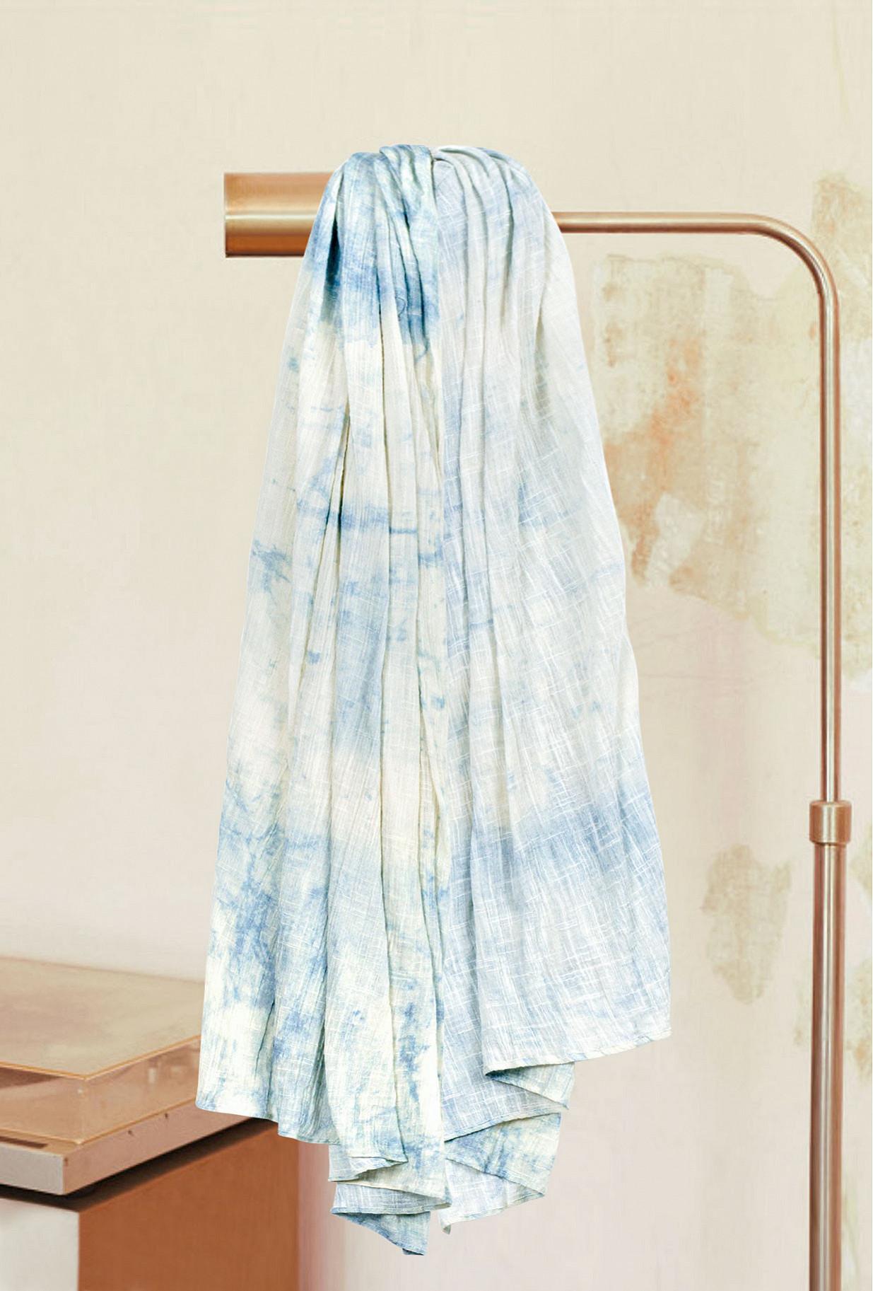 Écharpe Bleu glacier  Vermont mes demoiselles paris vêtement femme paris