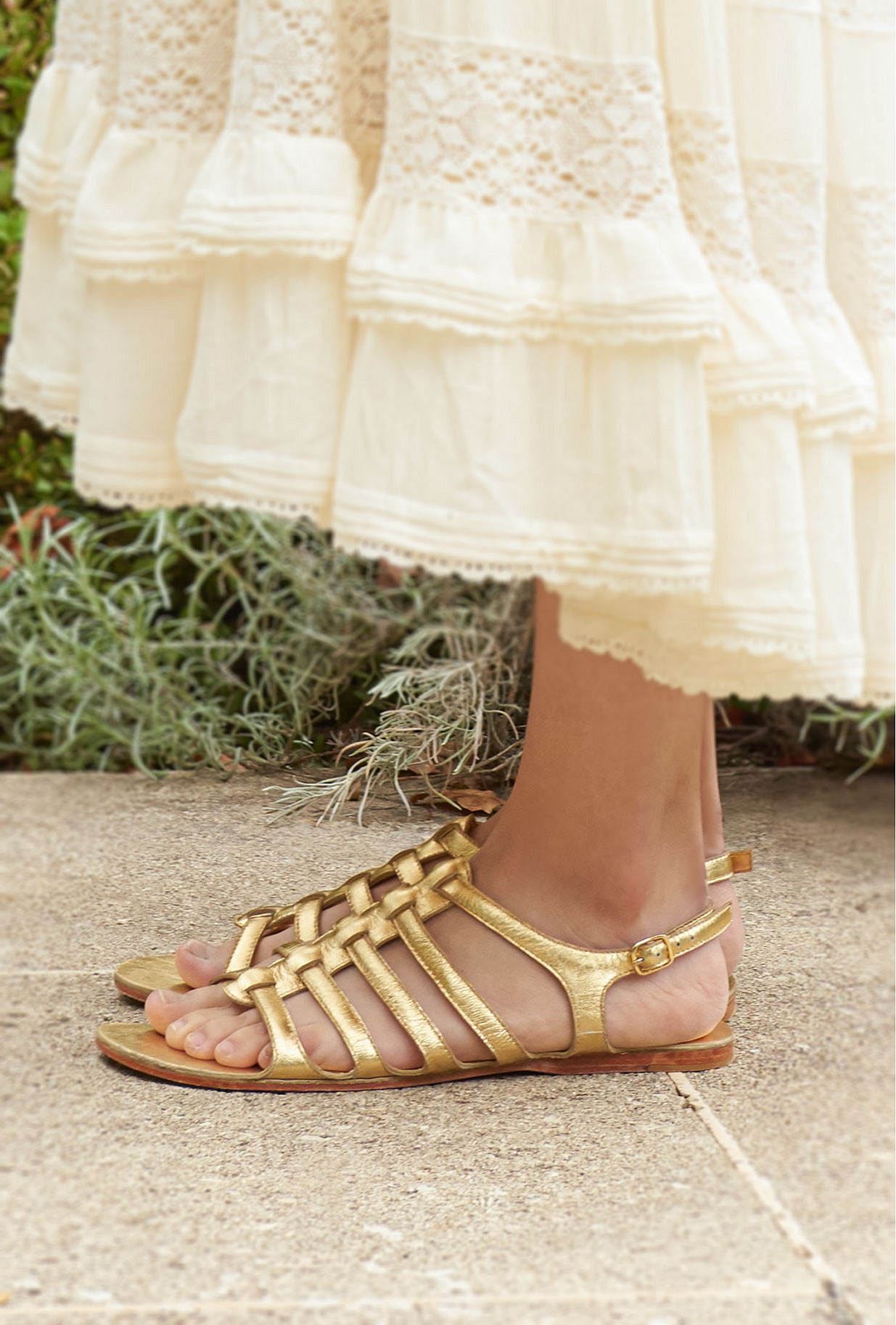 Gold Shoes & Accessories Heracles