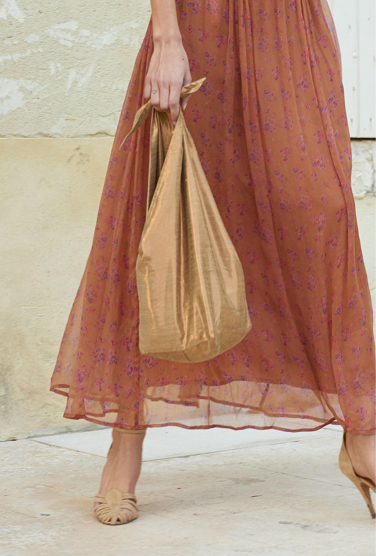 Bronze  Bag  Lingot Mes demoiselles fashion clothes designer Paris